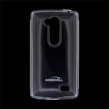 Pouzdro silikonové Kisswill pro LG L Fino - D290n, LG L Fino - D295, Transparent