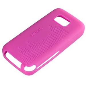 Nokia CC-1002, silikonu pouzdro pro Nokia 5530, Pink