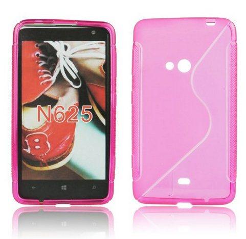 Pouzdro silikonové S-TYPE pro Nokia Lumia 630 a 635, Pink