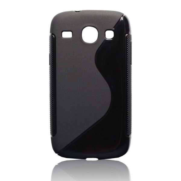 Pouzdro silikonové pro Samsung Galaxy Core-i8260, Black