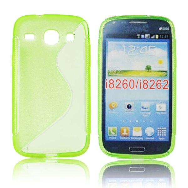 Pouzdro silikonové pro Samsung Galaxy Core-i8260, Green