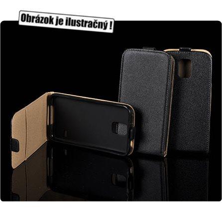 Pouzdro Slim Flip 2 pro Sony Xperia M2 Aqua, Black