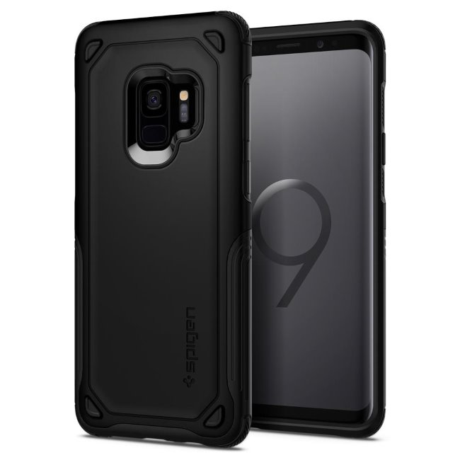Pouzdro Spigen Hybrid Armor pro Samsung Galaxy S9-G960F, Black