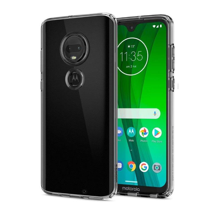 Pouzdro Spigen Liquid Crystal pro Motorola Moto G7 a G7 Plus