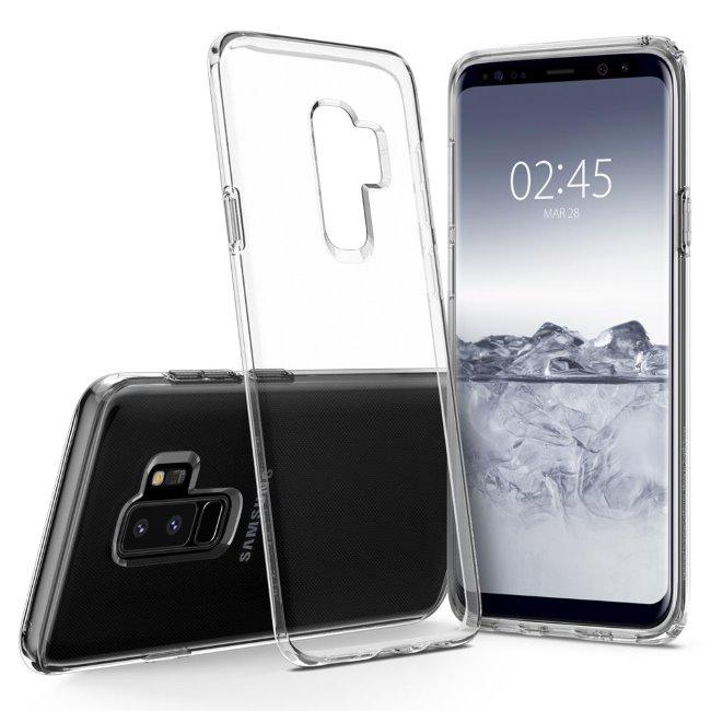 Pouzdro Spigen Liquid Crystal pro Samsung Galaxy S9 Plus-G965F, Clear