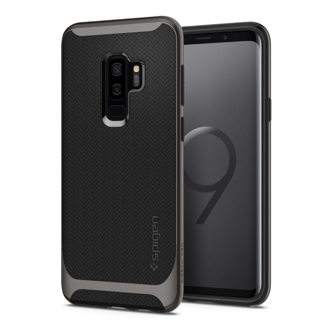 Pouzdro Spigen Neo Hybrid pro Samsung Galaxy S9 Plus-G965F, Gunmetal