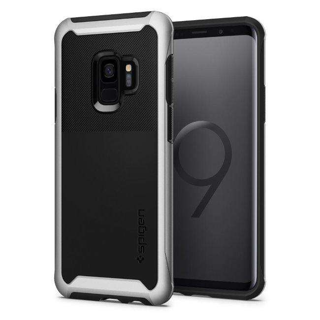 Pouzdro Spigen Neo Hybrid Urban pro Samsung Galaxy S9-G960F, Arctic Silver