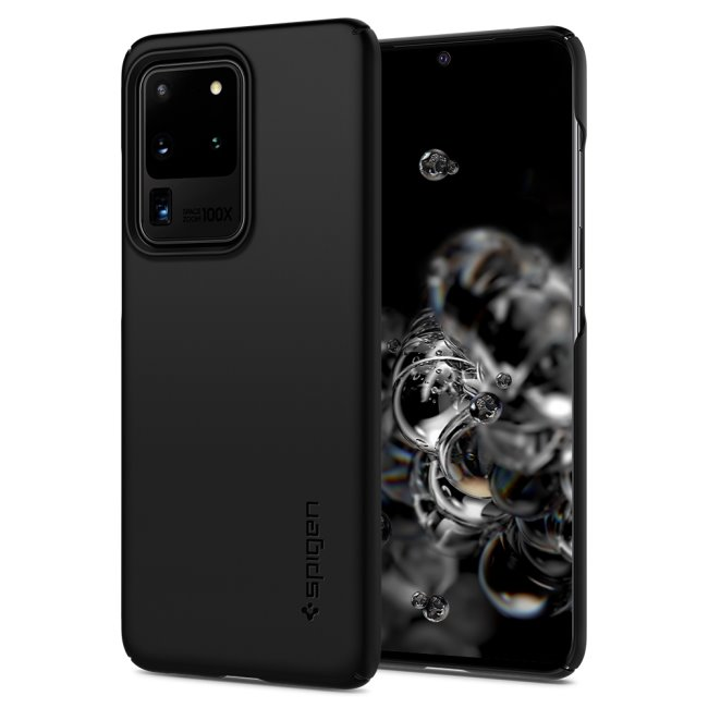 Pouzdro Spigen Thin Fit pro Samsung Galaxy S20 Ultra-G988F, black