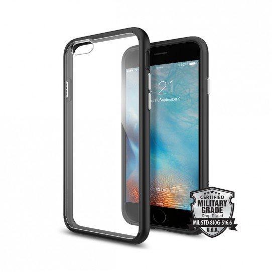 Pouzdro Spigen Ultra Hybrid pro Apple iPhone 6 a 6S, Black