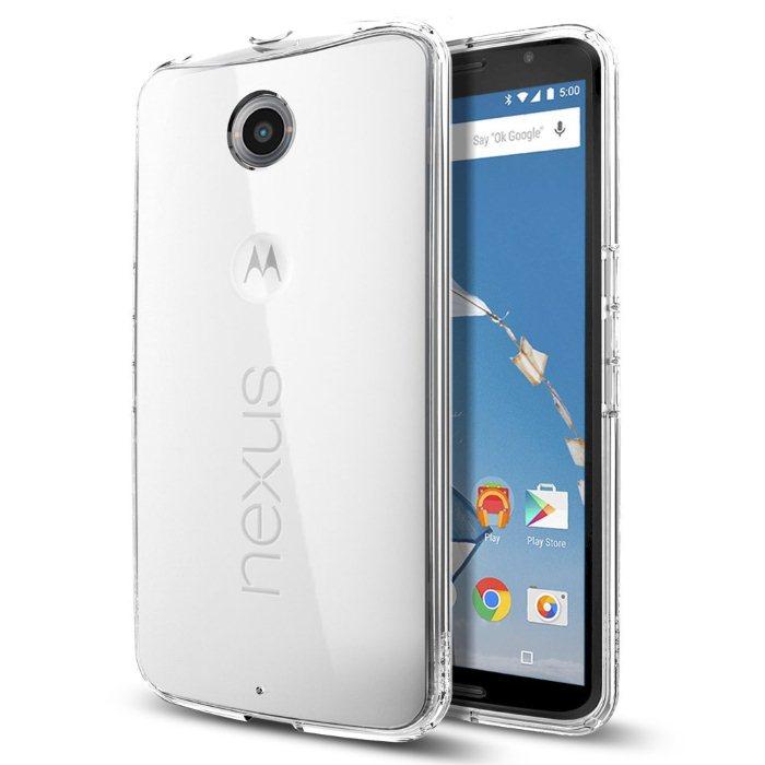Spigen Ultra Hybrid pro Motorola Nexus 6, Crystal Clear