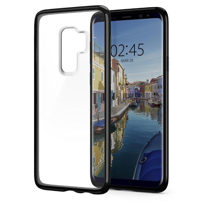 Pouzdro Spigen Ultra Hybrid pro Samsung Galaxy S9 Plus-G965F, Midnight Black