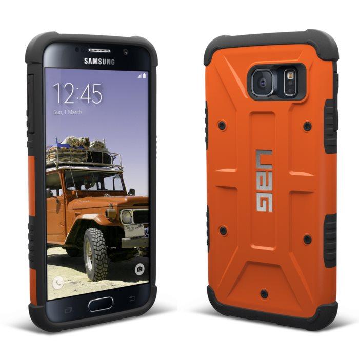 Pouzdro UAG Composite Case Outland pro Samsung Galaxy S6 - G920F, Orange
