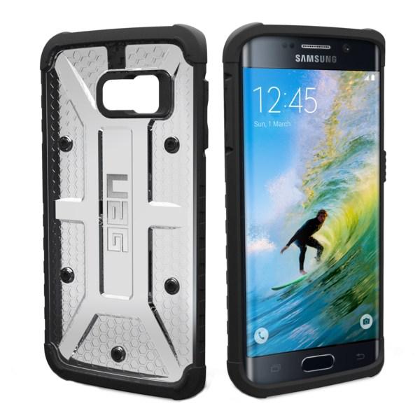 Puzdro UAG Composite Maverick pre Samsung Galaxy S6 Edge - G925F, Ice