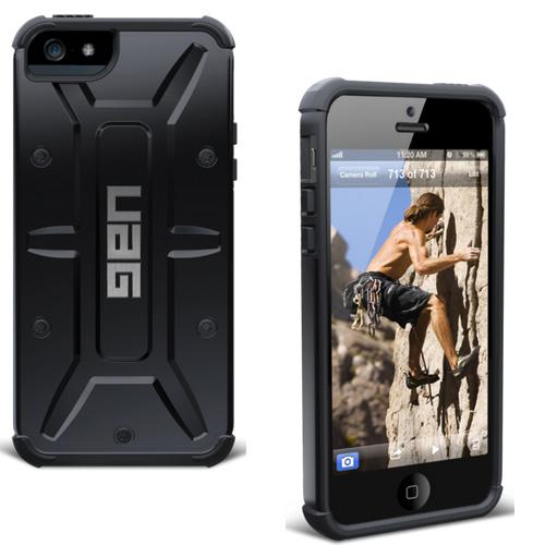 Pouzdro UAG Composite Scout pro Apple iPhone 5, 5S a SE, Black