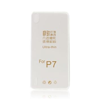 Pouzdro ultra tenké pro Huawei Ascend Mate7, Transparent