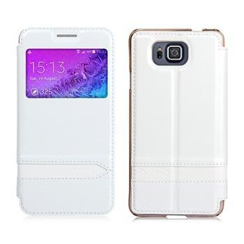 Pouzdro USAMS MERRY Series pro Samsung Galaxy Alpha - G850, White