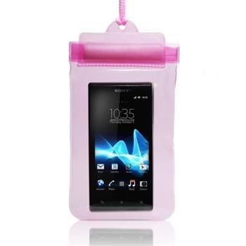 Pouzdro vodotěsné pro Alcatel One Touch Pop C5-5036D, Pink