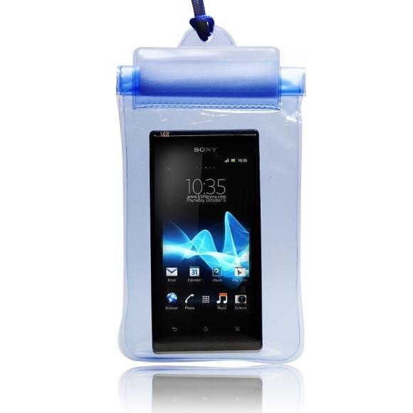Pouzdro vodotěsné pro LG Optimus L3 E400, Blue