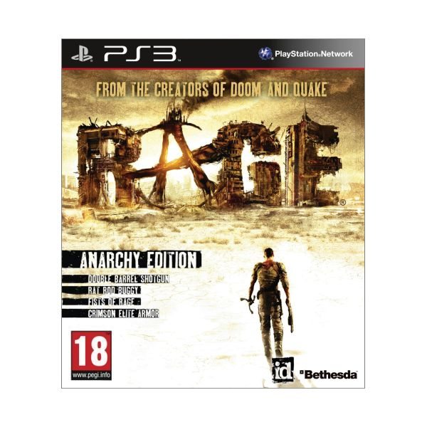 Rage (Anarchy Edition ) PS3