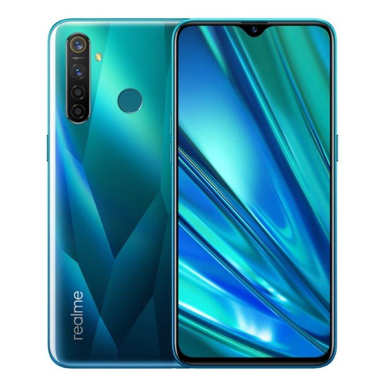 Realm 5 Pro, 4/128GB, Dual SIM, Crystal Green-CS distribuce