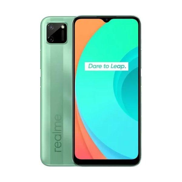 Realm C11, 3/32GB, Dual SIM, Mint Green-CS distribuce