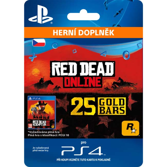 Red Dead Redemption 2 (CZ 25 Gold Bars)