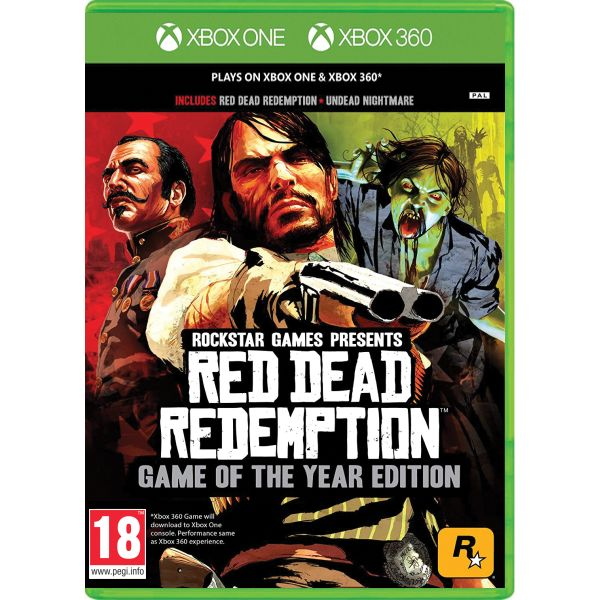 Red Dead Redemption (Game of the Year Edition)[XBOX 360]-BAZAR (pou�it� zbo��)