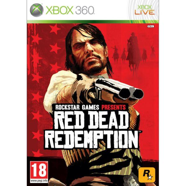 Red Dead Redemption-XBOX 360-BAZAR (použité zboží)