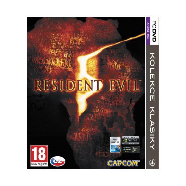 Resident Evil 5 CZ PC CD-key