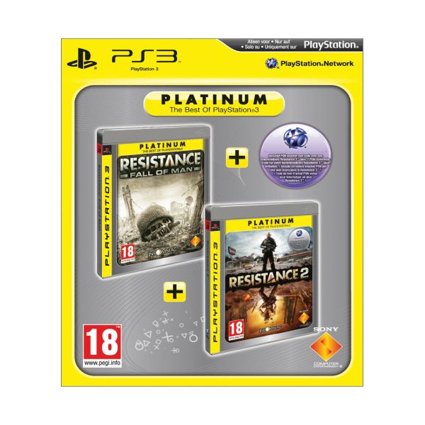 Resistance: Fall of Man + Resistance 2 PS3