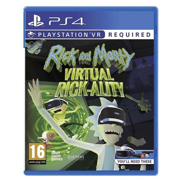 Rick and Morty: Virtual rick-Alito