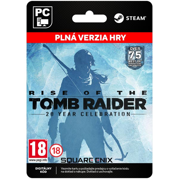 Rise of the Tomb Raider (20 Year Celebration Edition)[Steam]
