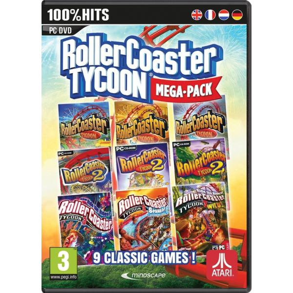 Rollercoaster Tycoon (Mega Pack) PC
