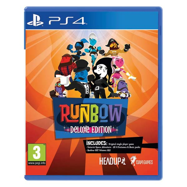 Runbow (Deluxe Edition) PS4