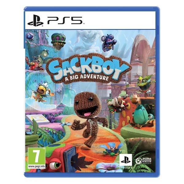 Sackboy: A Big Adventure CZ [PS5] - BAZÁR (použitý tovar)