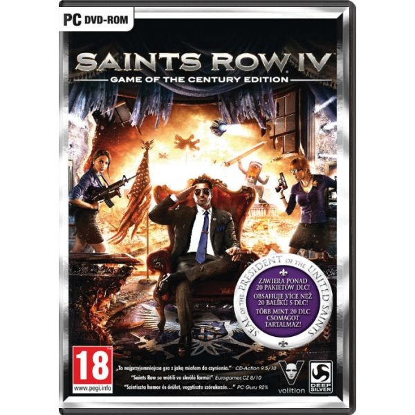 Saints Row 4 (Game of the Century Edition) PC
