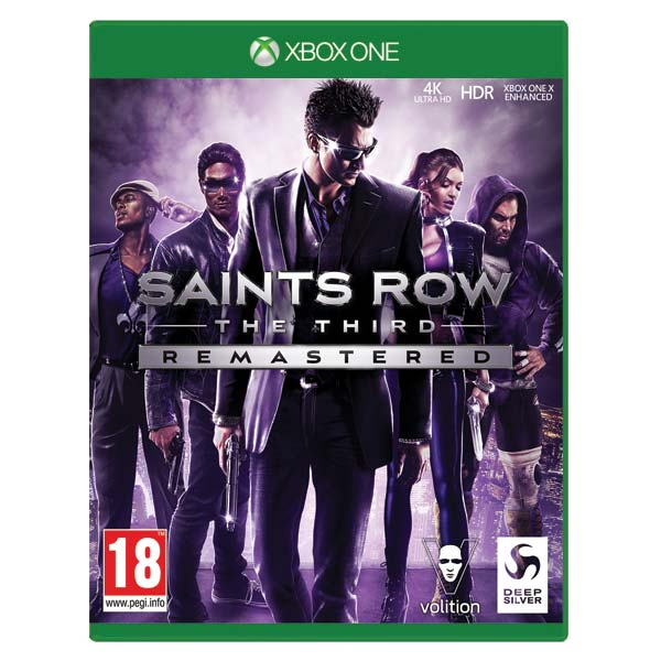Saints Row: The Third (Remastered) CZ XBOX ONE