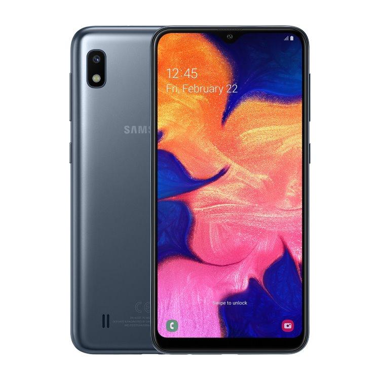 Samsung Galaxy A10-A105F, Dual SIM, Black-CZ distribuce
