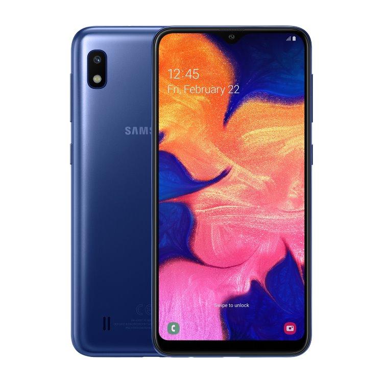 Samsung Galaxy A10-A105F, Dual SIM, Blue-CZ distribuce