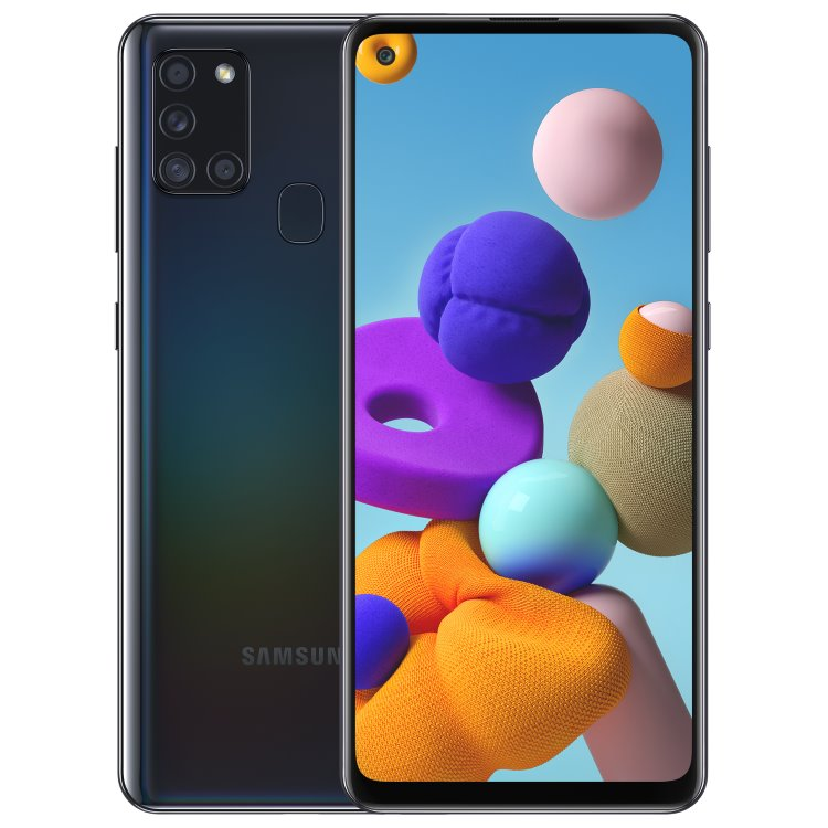 Samsung Galaxy A21s-A217F, Dual SIM, Black-CZ distribuce