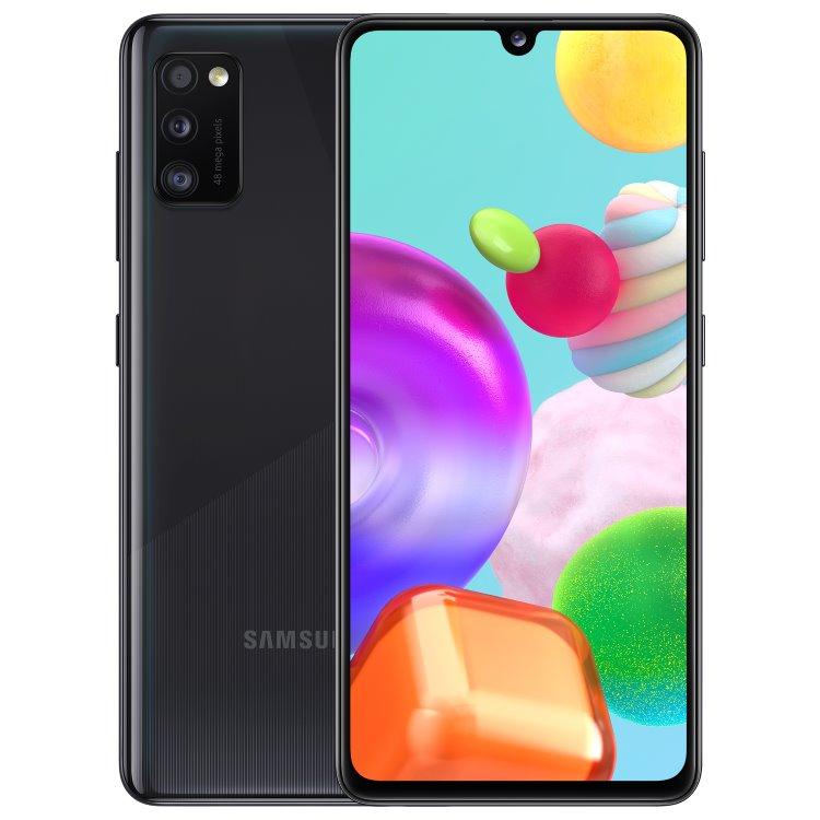 Samsung Galaxy A41-A415F, 4/64GB, Dual SIM, Black-CZ distribuce