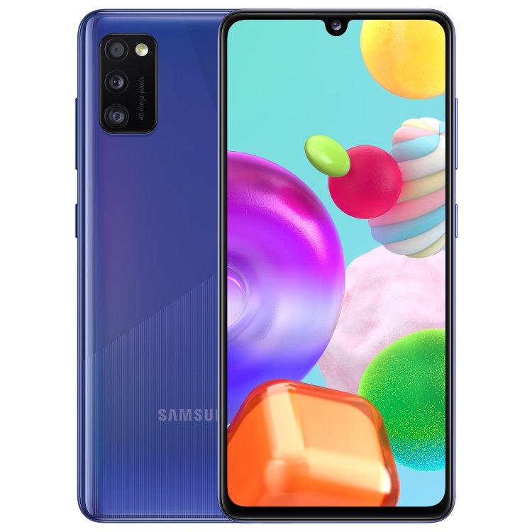 Samsung Galaxy A41-A415F, 4/64GB, Dual SIM, Blue-CZ distribuce