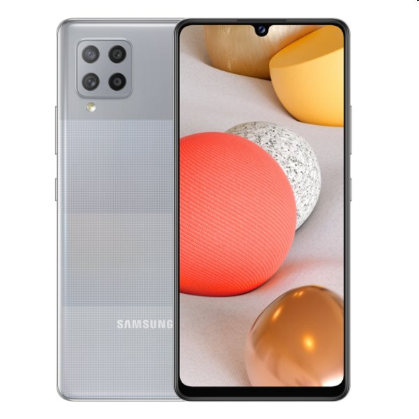 Samsung Galaxy A42 5G - A426B, Dual SIM, 4/128GB, light grey - SK distribúcia