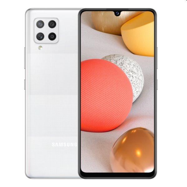 Samsung Galaxy A42 5G - A426B, Dual SIM, 4/128GB, white - SK distribúcia