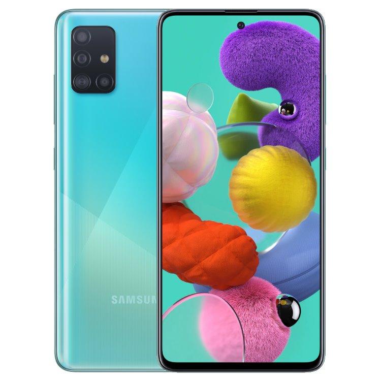 Samsung Galaxy A51-A515F, 4/128GB, Dual SIM, Blue-CZ distribuce
