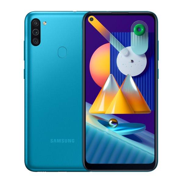 Samsung Galaxy M11-M115F, 3/32GB, blue-CZ distribuce