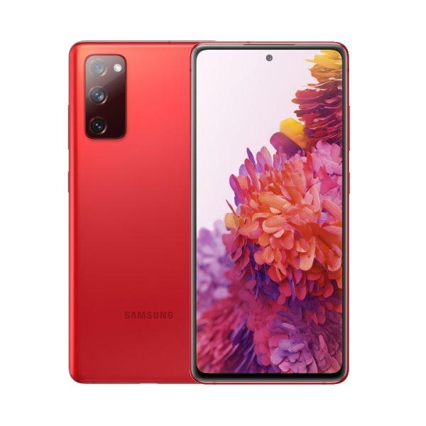 Samsung Galaxy S20 FE-G780F, Dual SIM, 6/128GB, Cloud Red-CS distribuce