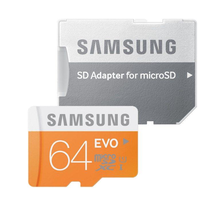 Samsung Micro SDXC 64GB EVO Class 10 Adaptér-rychlost 48 MB/s