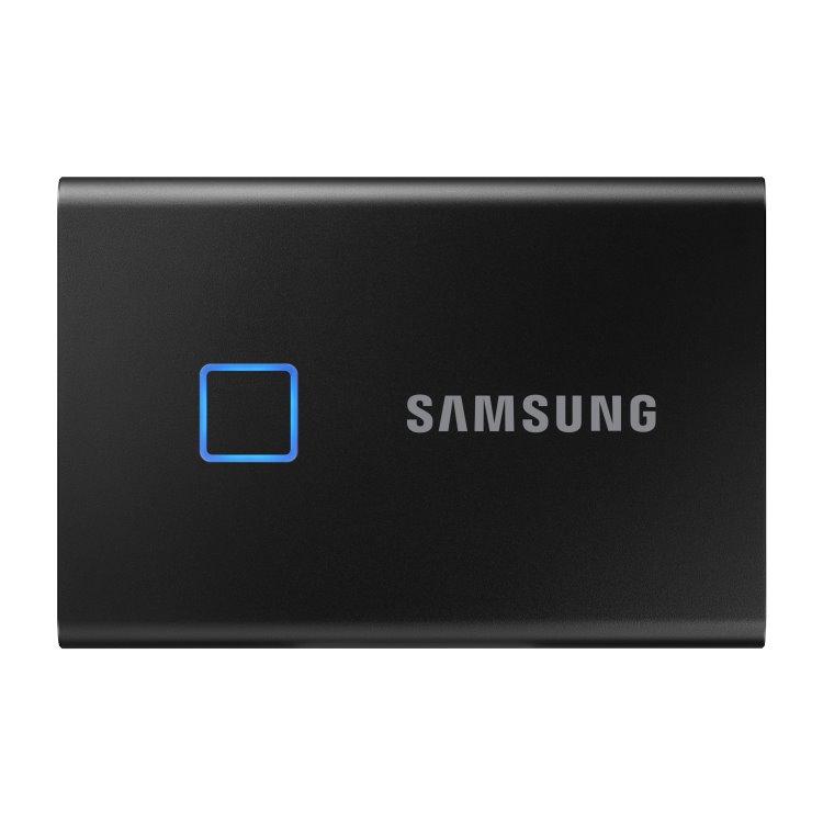 Samsung SSD T7 Touch, 1TB, USB 3.2-rychlost 1050/1000 MB/s (MU-PC1T0K/WW), Black