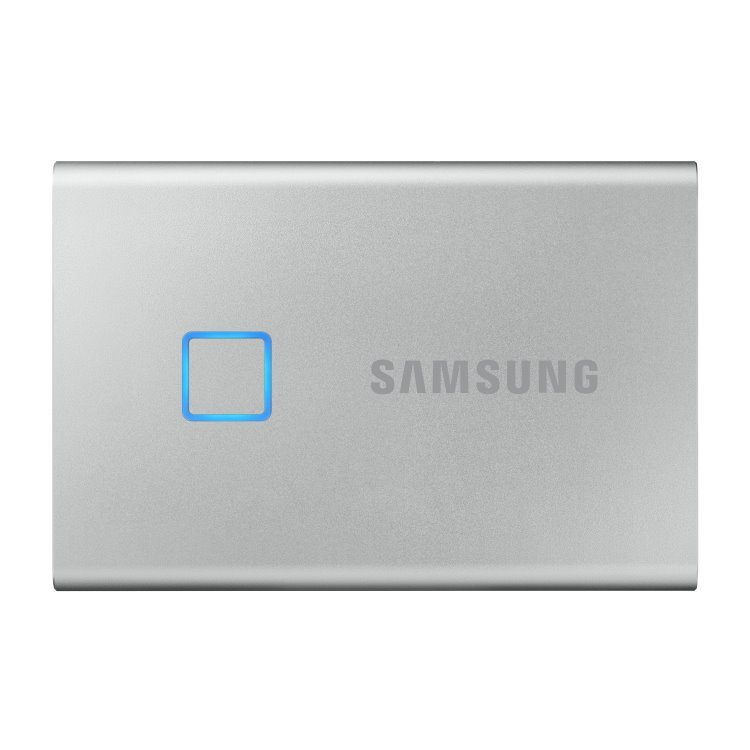 Samsung SSD T7 Touch, 2TB, USB 3.2-rychlost 1050/1000 MB/s (MU-PC2T0S/WW), Silver